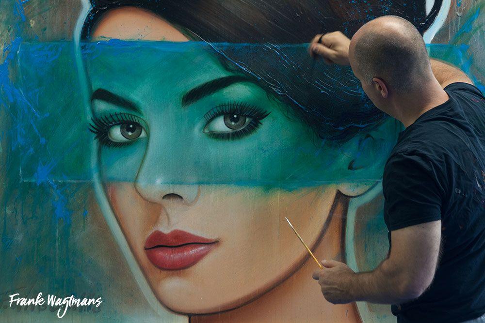 Unieke Woonkamer Iris : Wilt u een origineel schilderij voor in uw woonkamer kopen
