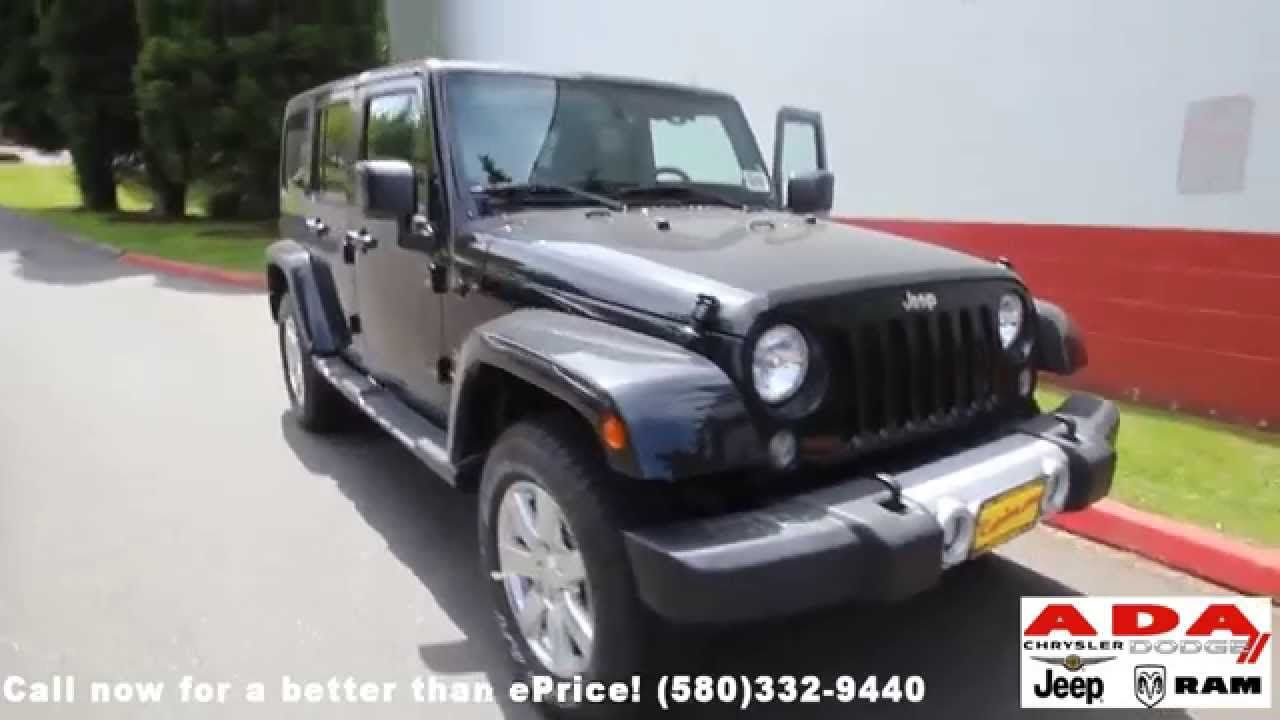 Norman Ok Lease Or Buy 2014 2015 Jeep Wrangler Unlimited