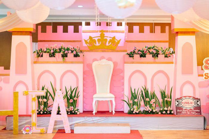 Glam Royal Princess Birthday Ball Princess Theme Birthday