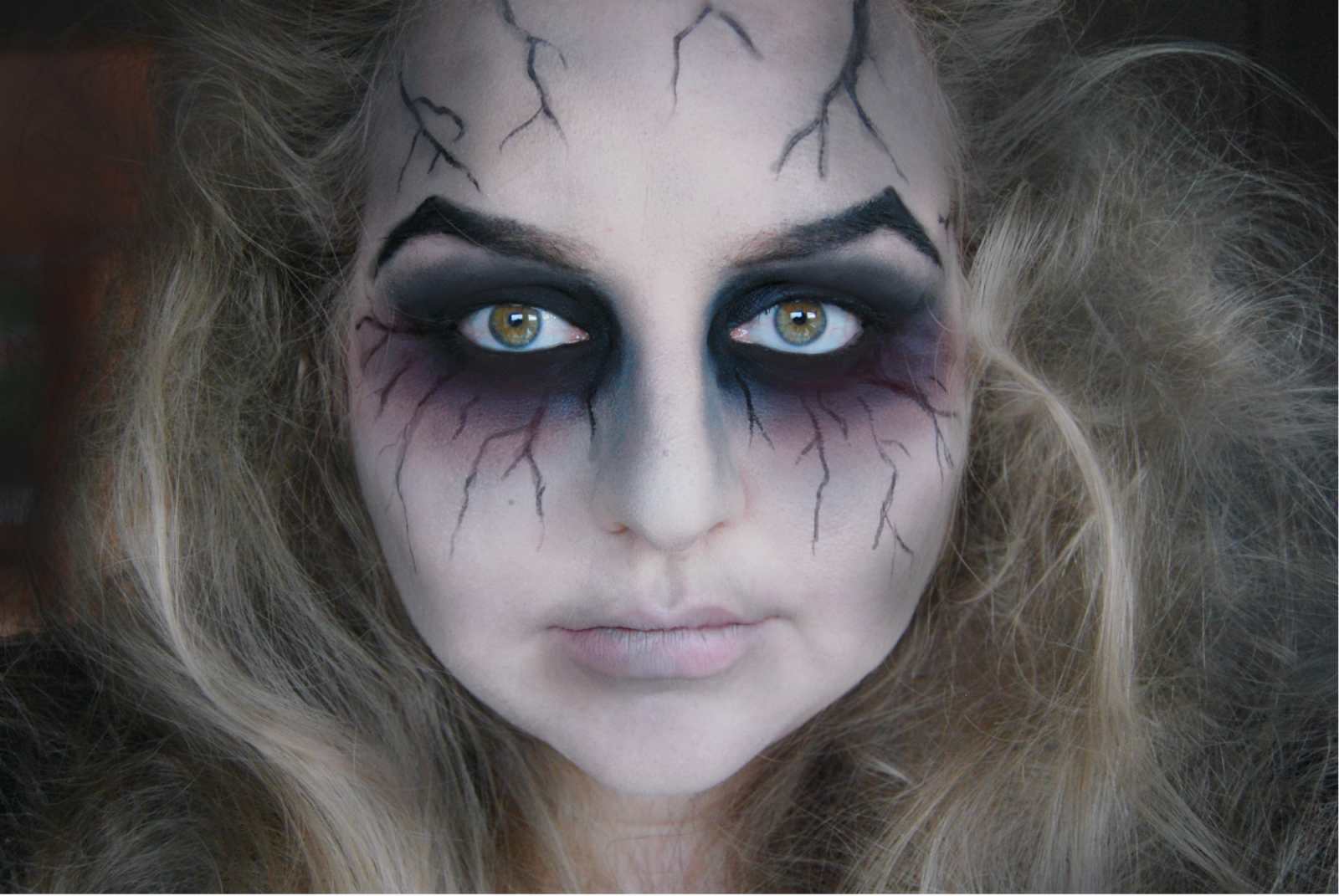 Ghost Makeup - Google-su00f8gning | Make-up/Sminke | Pinterest | Ghost Makeup Halloween Makeup And ...