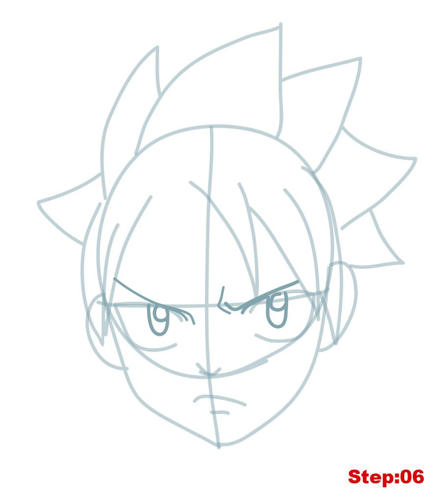 Welcome Back Mangakas Today On How To Draw Manga In 3d Our Drawing Tutorial Is On Natsu Dragneel From Fairy Tail Natsu Is T Natsu Drawings Fairytale Drawings