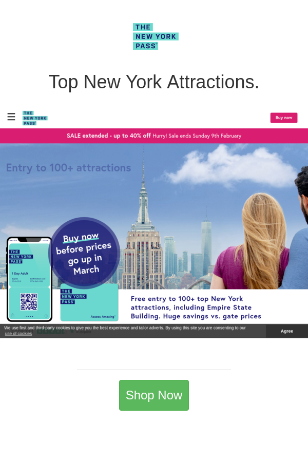 Best Deals And Coupons For The New York Pass In 2020 New York Attractions York Pass The New York Pass