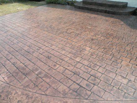 Image Result For Cobblestone Stamped Concrete Patio
