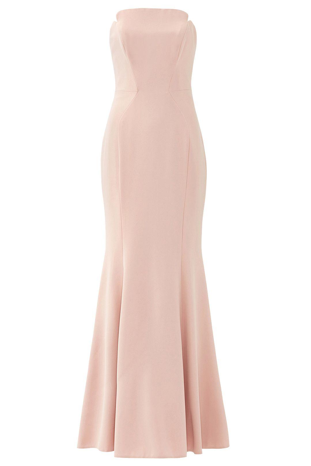 Rose Pink Academy Gown by Jill Jill Stuart for $90   Rent The Runway ...