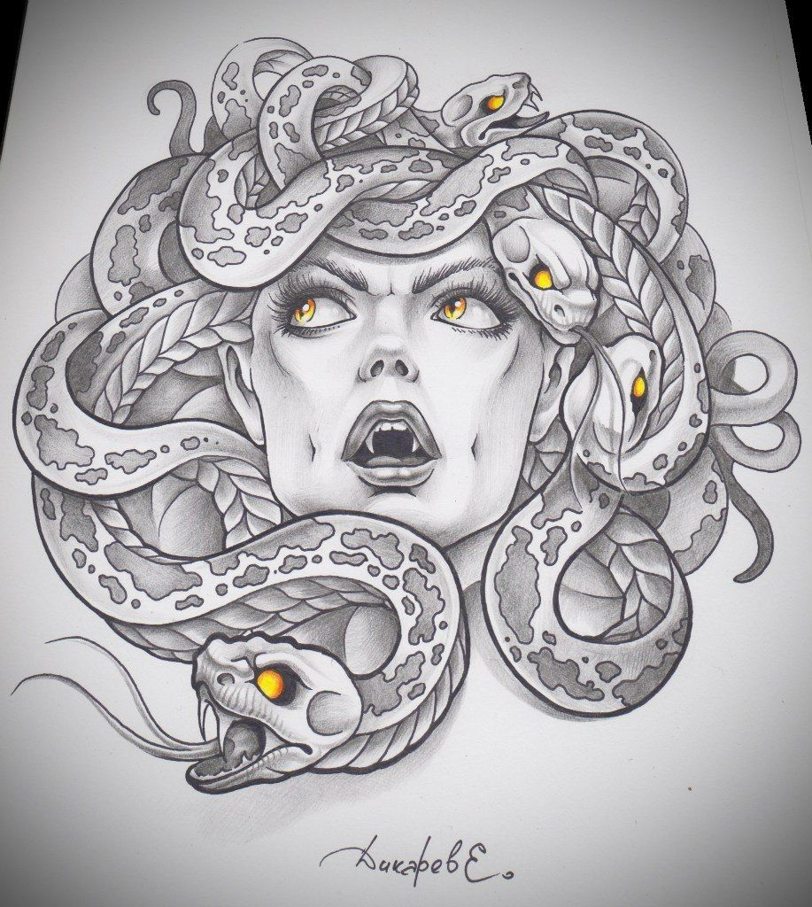 Medusa Art Medusa Tattoo Medusa Drawing Tatoo Drawing