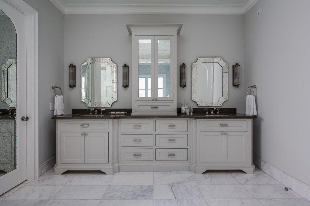 3621 Wentwood – Bathroom | Oxbridge Homes Village Cupboards