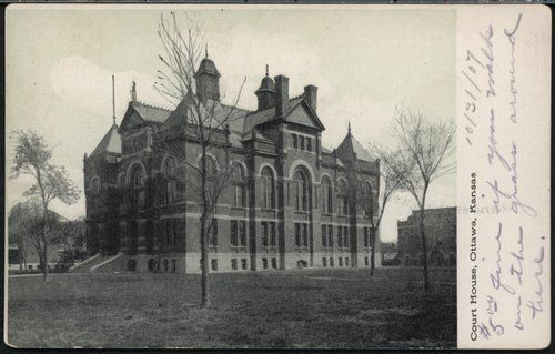 Franklin County Courthouse, Ottawa, 1907 | Courthouses in