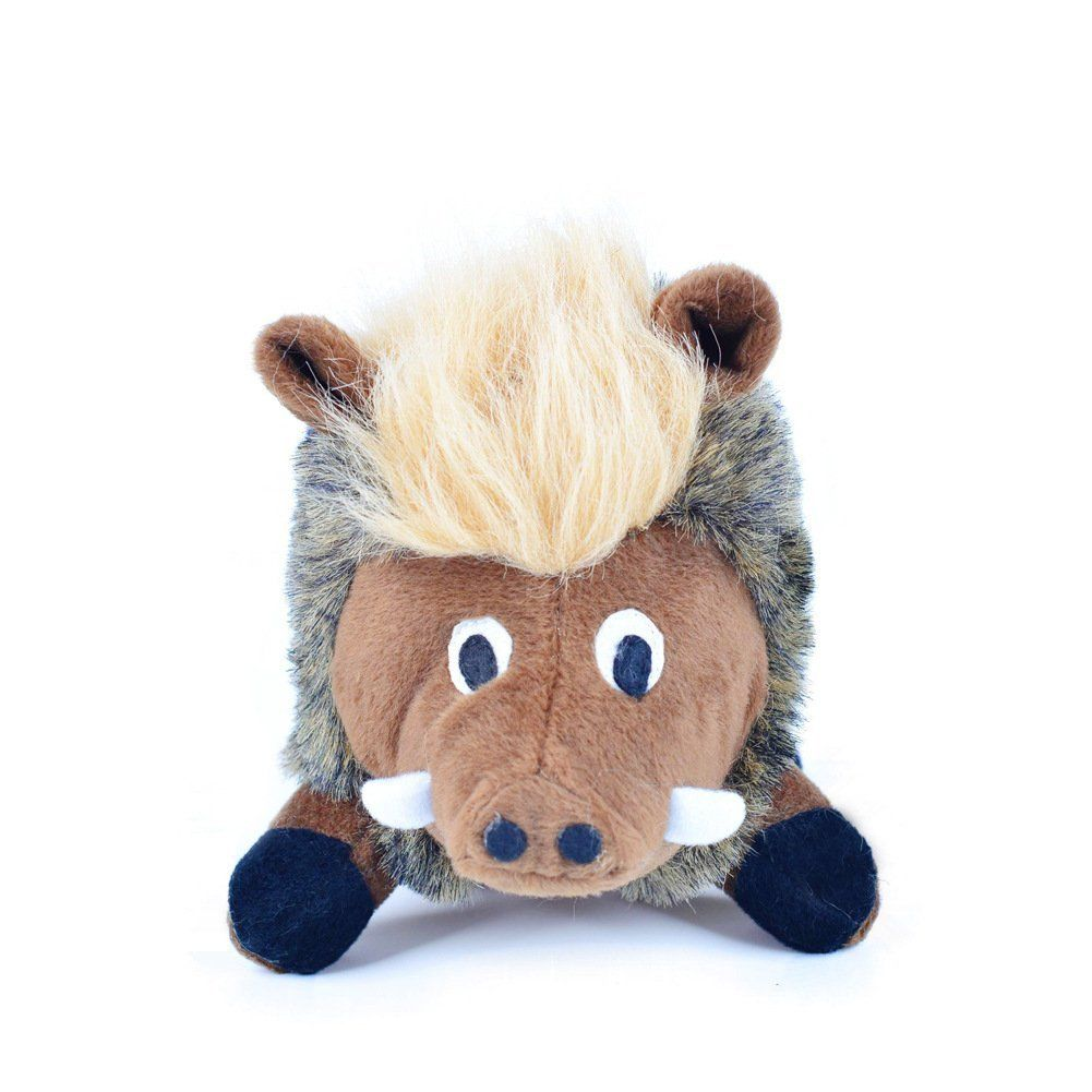 Hot sale dog toy squeaking warthog dog toy plush toy for