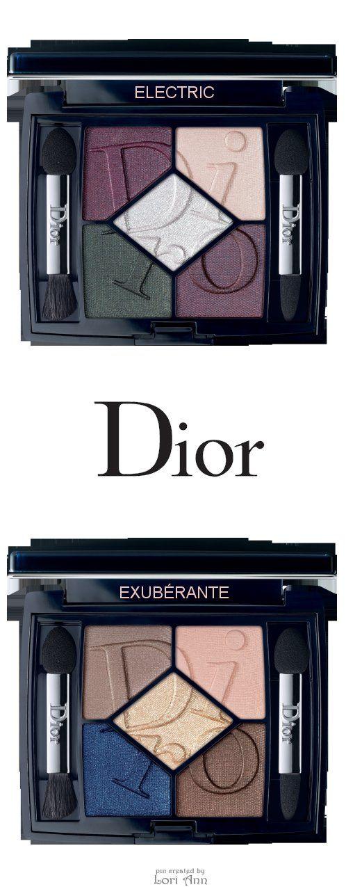 Dior Cosmopolite Collection - 5 Couleurs Shadows in Electric & Exuberante | House of Beccaria#