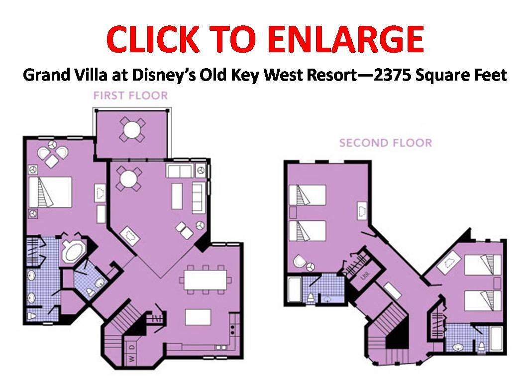 Floor plan of our 8 bedroom villa  Key west resorts, Old key