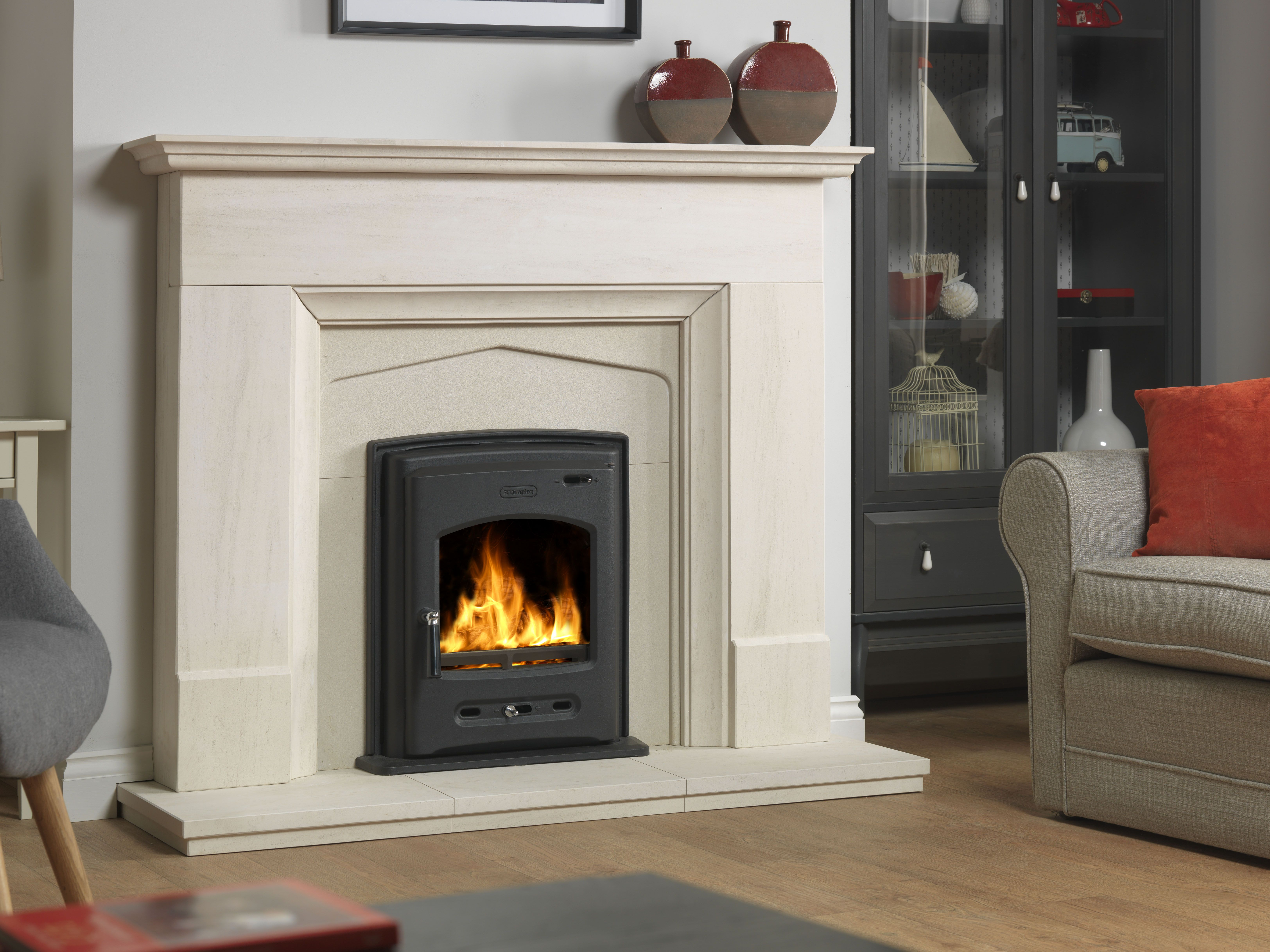 Bellingham inset se multifuel stove designed to be used in a