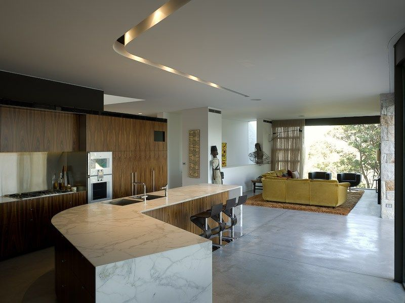 dream house design interior wooden kitchen living room dining kitchen interior designs subin surendran architects