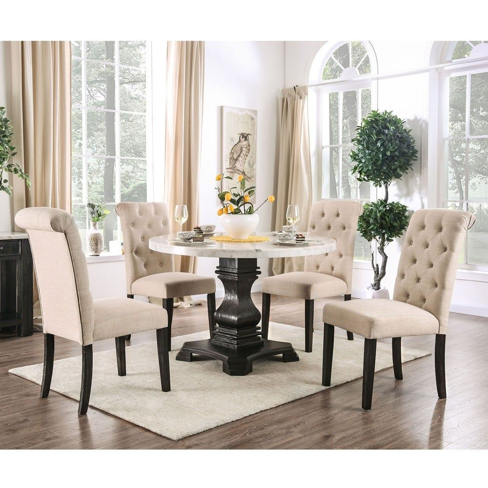 Overstock Com Online Shopping Bedding Furniture Electronics Jewelry Clothing More In 2020 Round Marble Dining Table Round Dining Set Furniture Of America