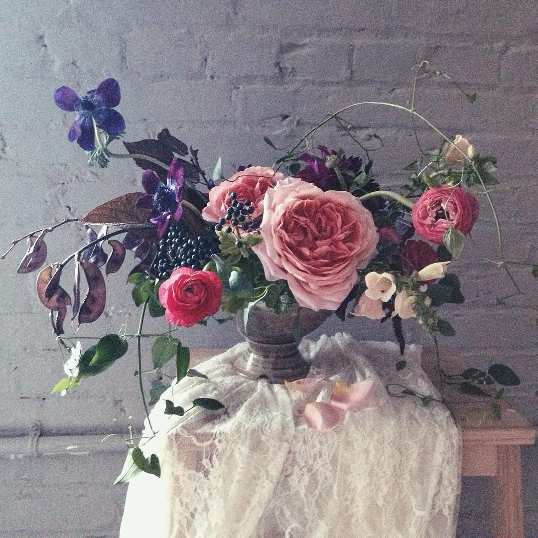 Pin by One Wild Flower Farm & Design on Blushing Pinks