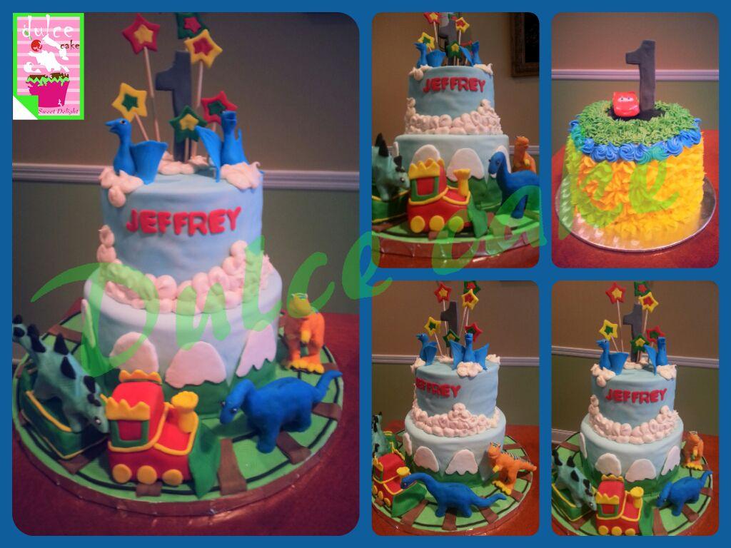 Dinosaurs Train Birthday Cake Dulce Cake Dinosaur Train Party
