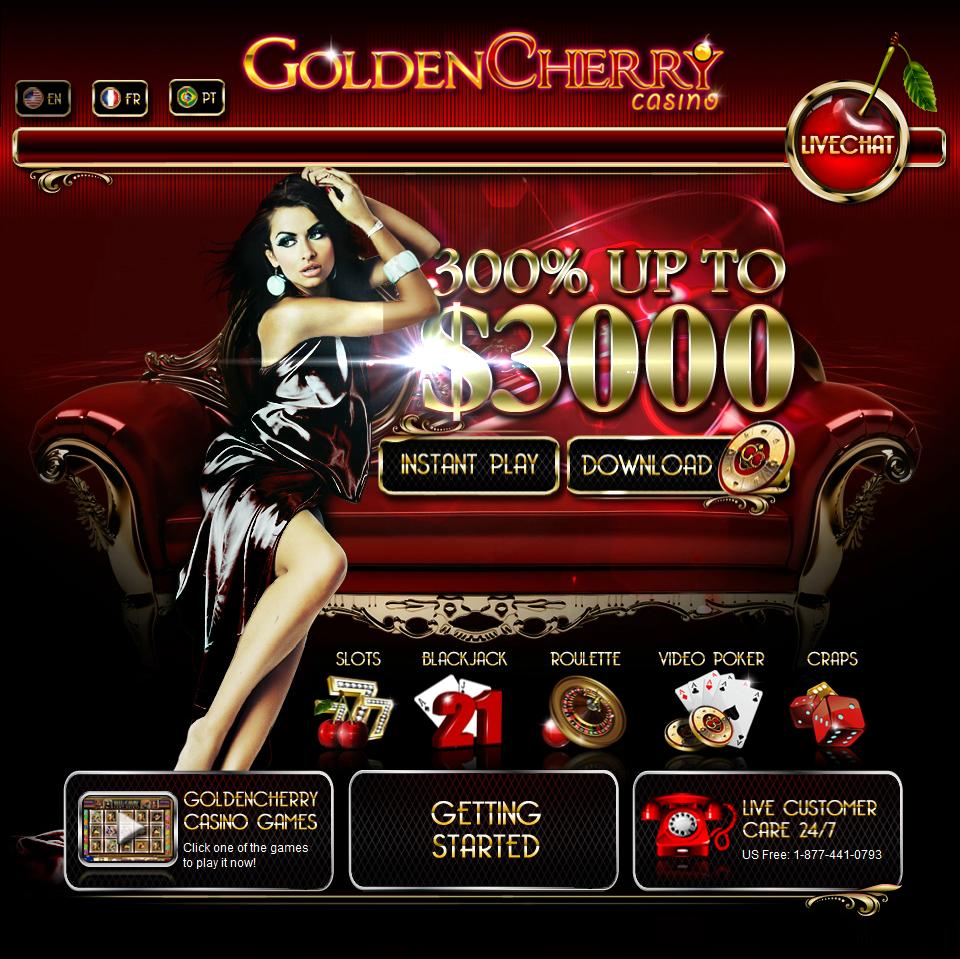 Double Up the fun with Golden Cherry Weekly Bonus Casino