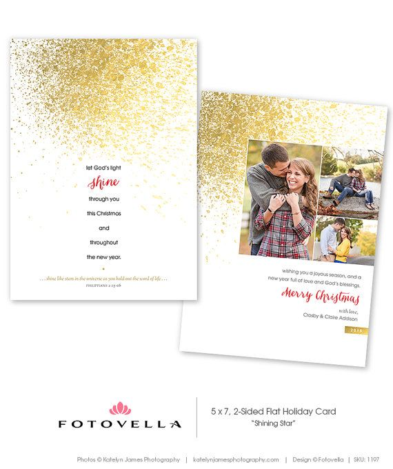 Shining Star Christian Christmas Card Template Photoshop Template By Fot Christmas Card Template Photoshop Christmas Card Template Christian Christmas Cards