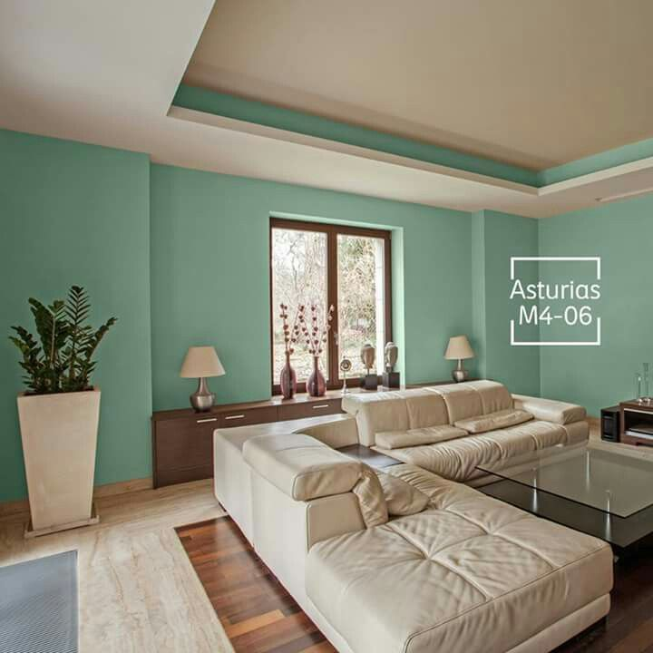 Sala comedor pintura salas living room color for Pintura en interiores de recamaras