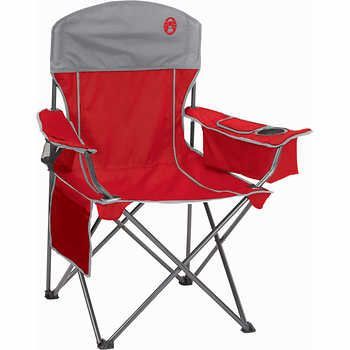 Coleman 174 Oversized Quad Chair With Cooler Camping Chairs