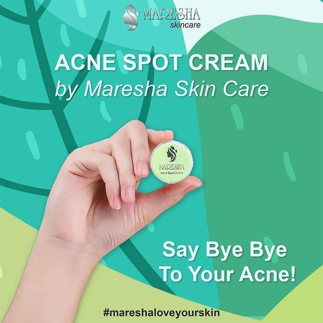 Si kecil yang bermanfaat! Acne Spot Cream by Maresha ...