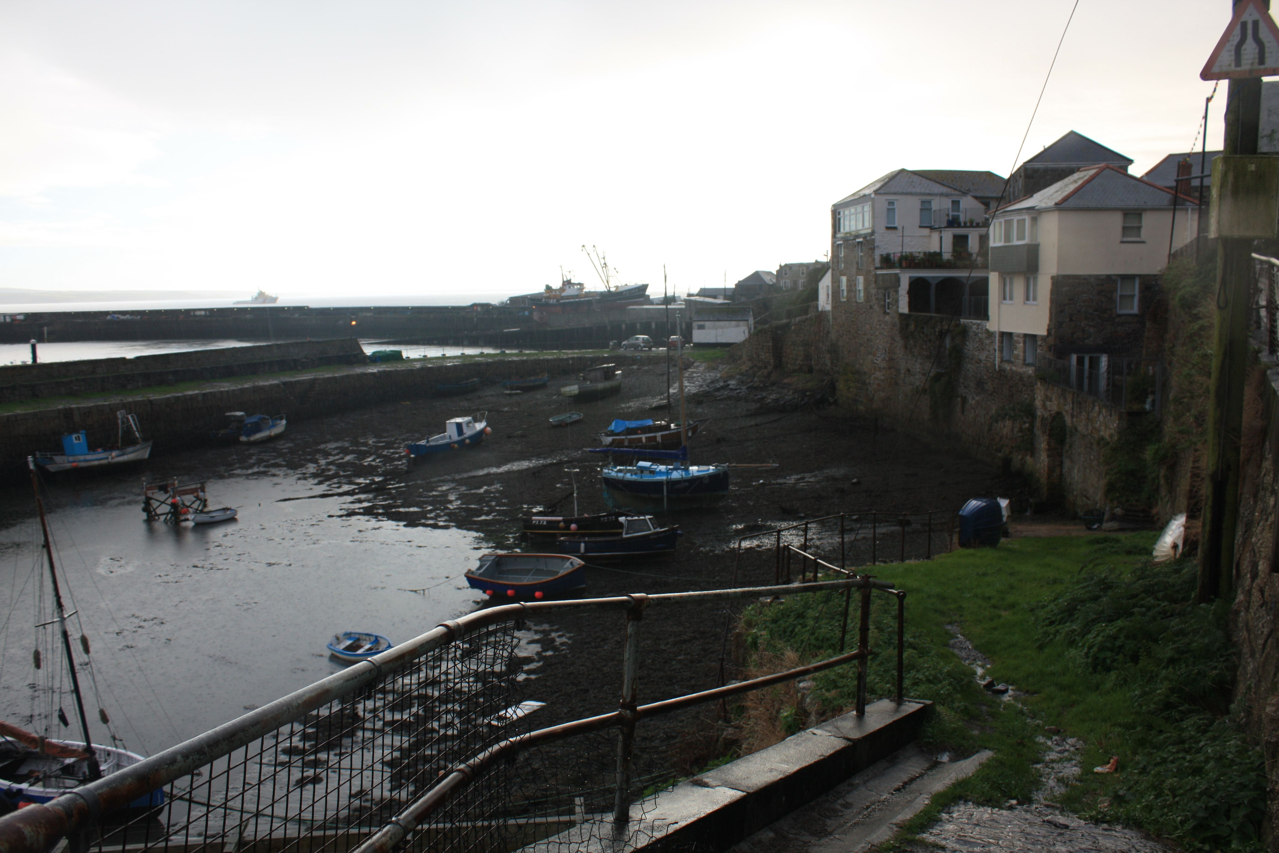 Newlyn Harbour Cornwall, Filmlocation Classic Doctor Who The Smuggler Broadcast from 10.09.1966 to 01.10.1966