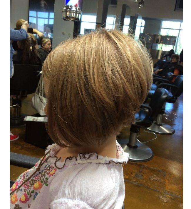 Pin on girl's hair