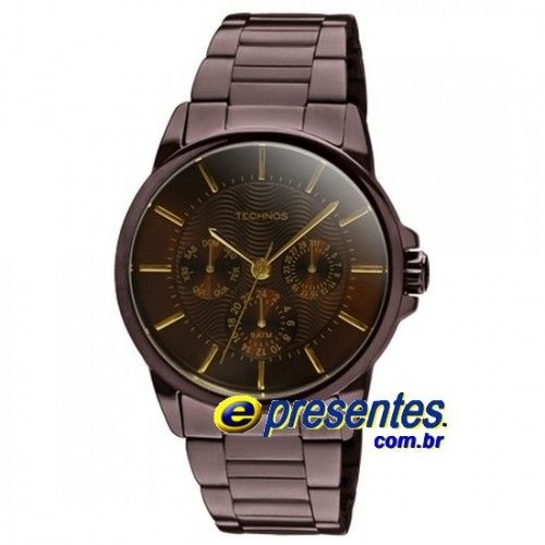 4f82f5da139 2115HM 1M Relógio Feminino TECHNOS Chocolate