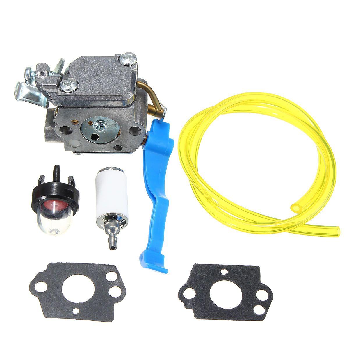 Carburetor with Gasket Fuel Line Air Filter For Husqvarna