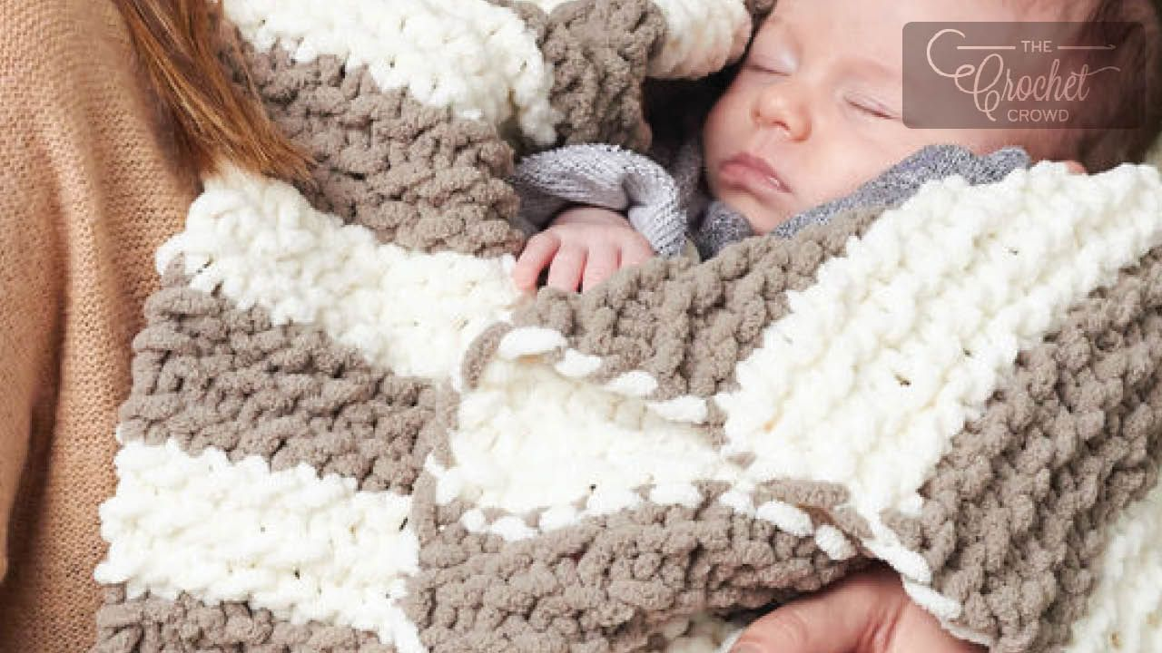 Beginners Knit Baby Blanket + Tutorial Knitted baby