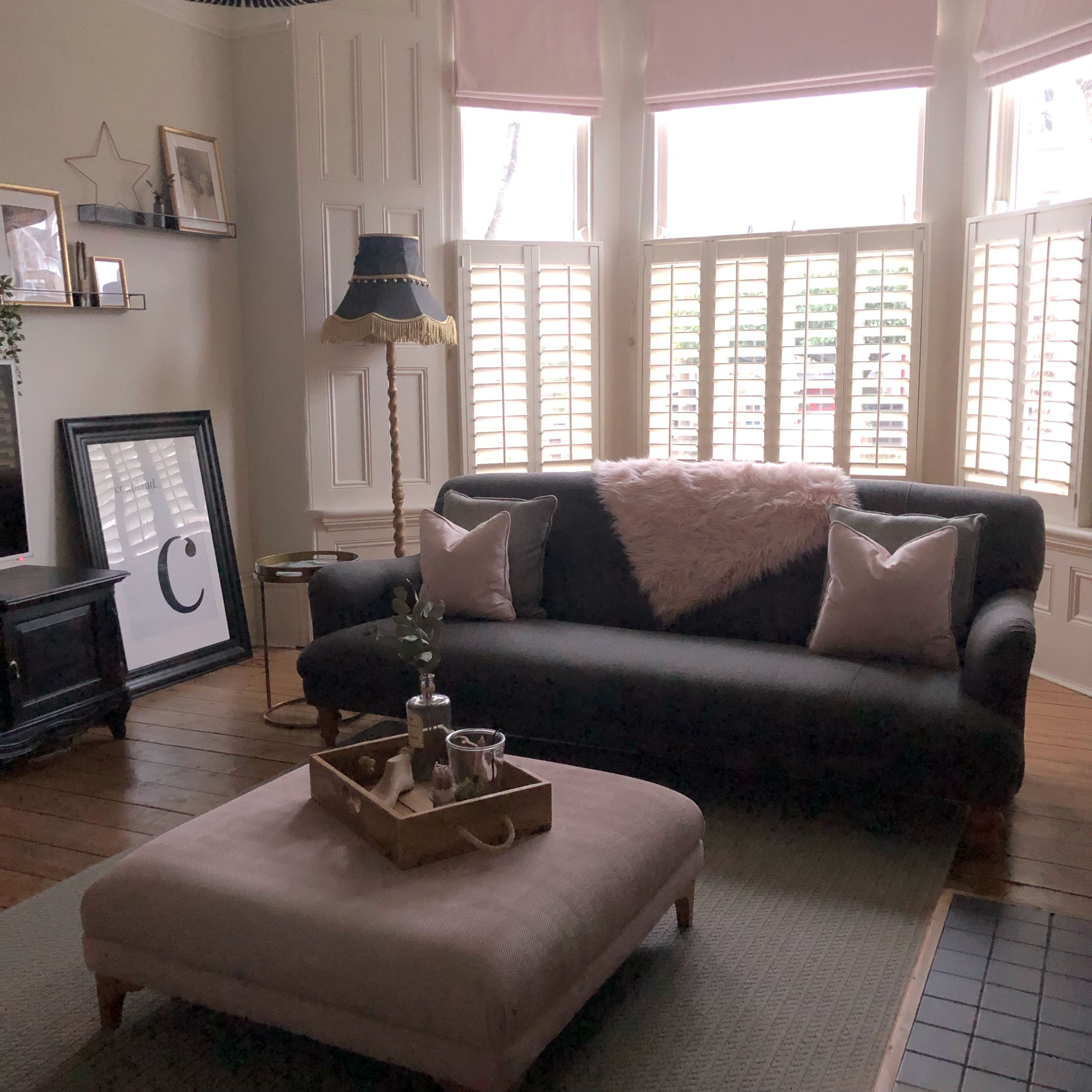 Pink Edit 2019 Pink Living Room Footstool Living Rooms Nelson House