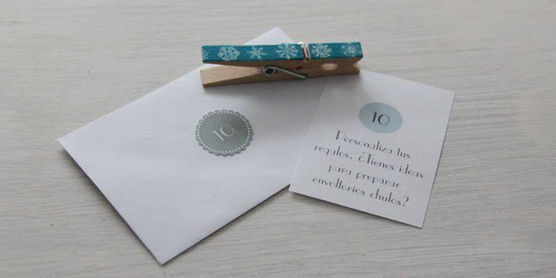 Little Hannah: Día #10: Personaliza tus regalos con envoltorios chulos