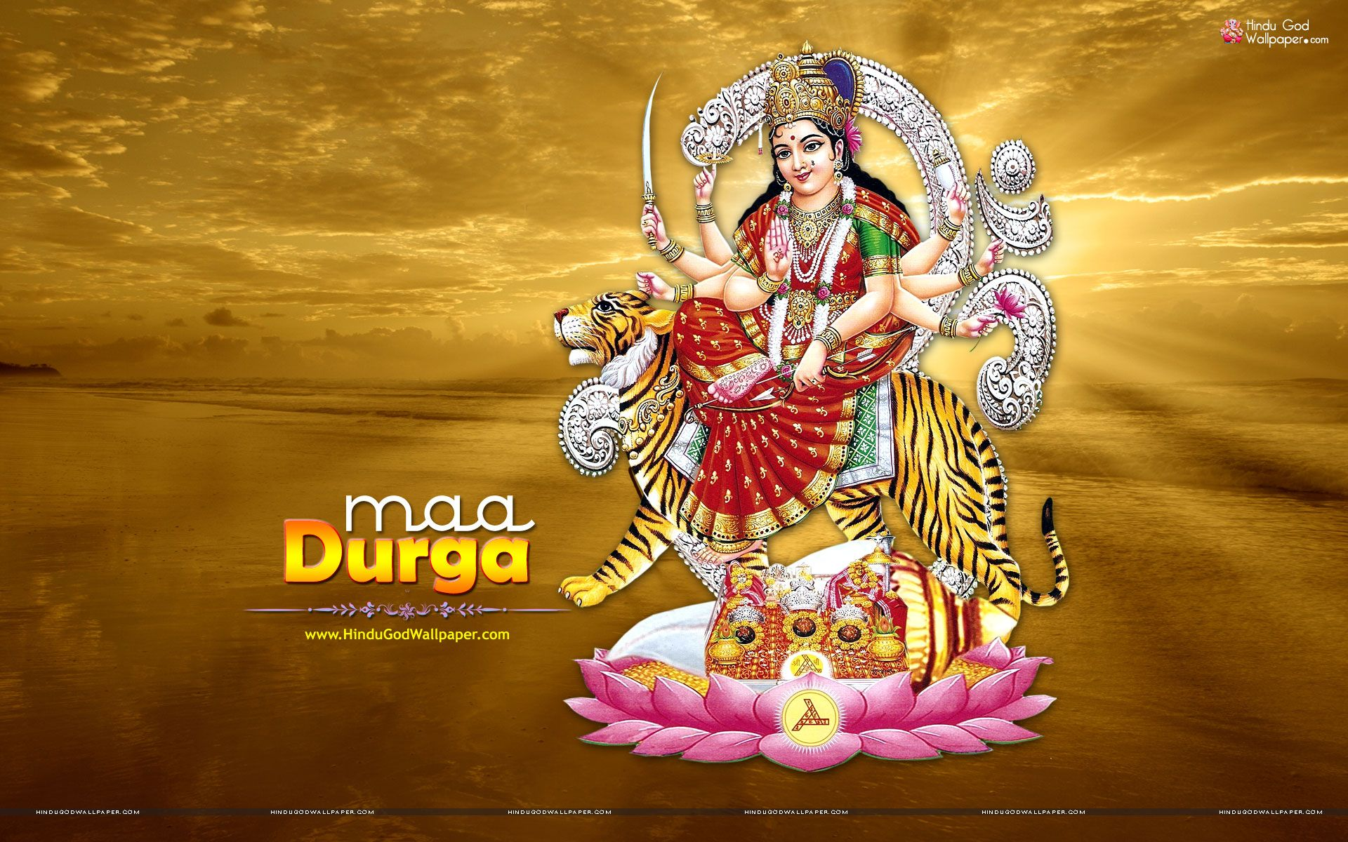 6 Best Maa Durga Wallpapers For Desktop Mobile Background O