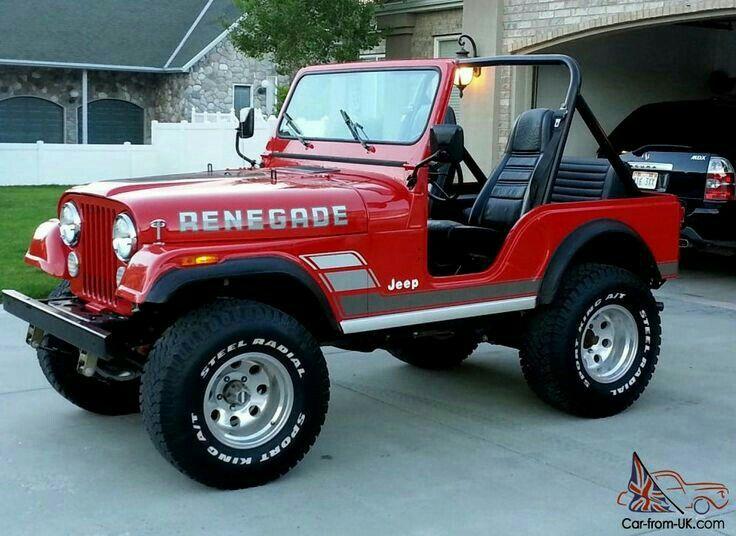 Pin By Rich Fetters On Jeep Cj5 Golden Eagle Renegade Laredo