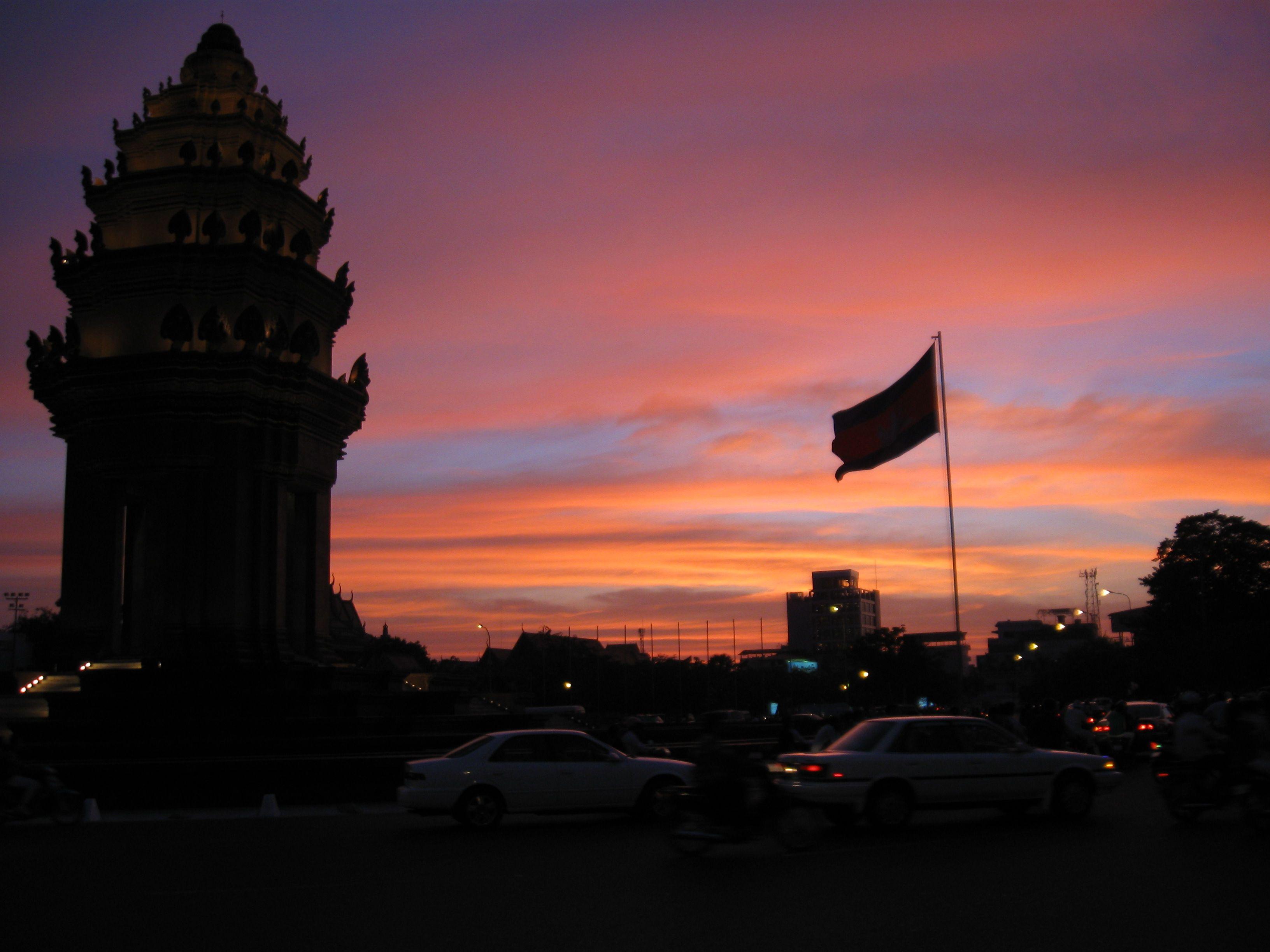 The Independence Monument Phnom Penh Phnom penh