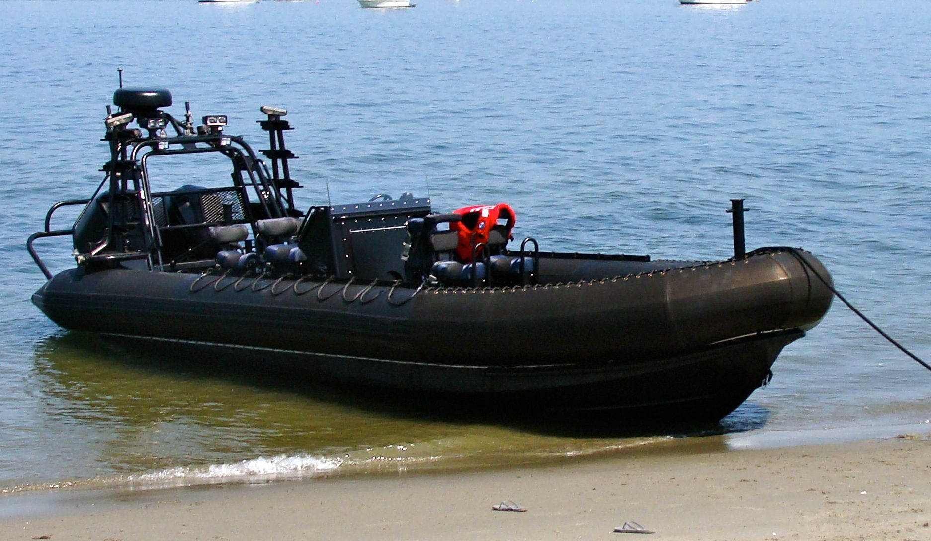 Titan Boats Raptor. Bound for L.A. County Sheriff's ERT team. Boat 2 of 3.