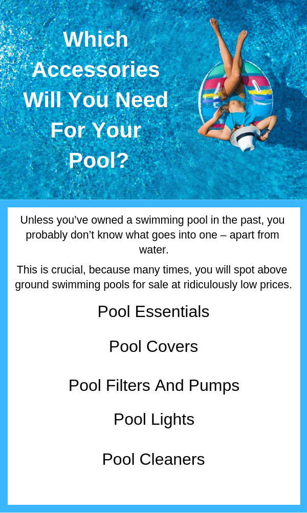 Which accessories will you need for your pool? | Swimming ...