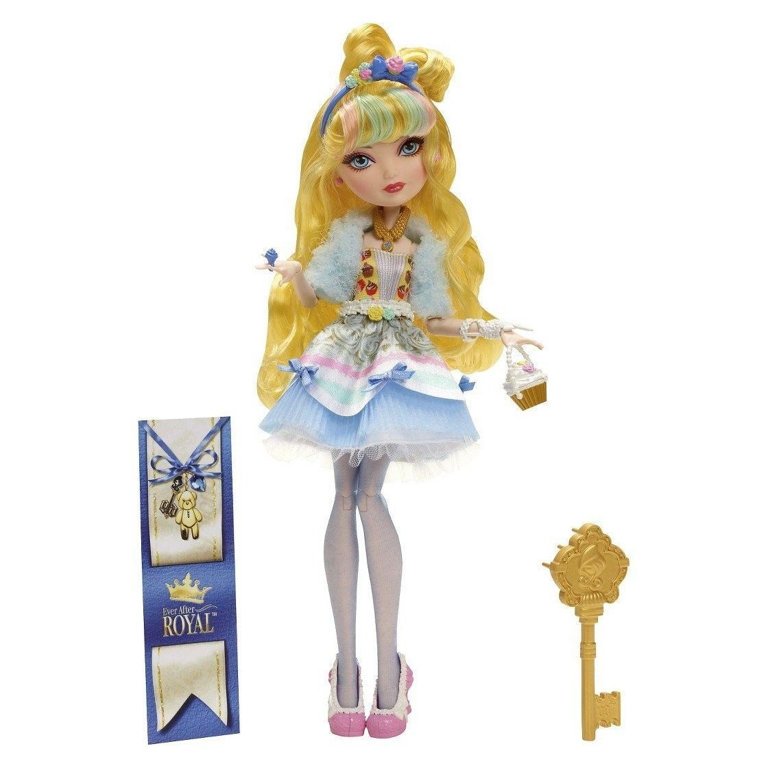 Ever After High Back to School Blondie Lockes Doll Daughter of Goldilocks