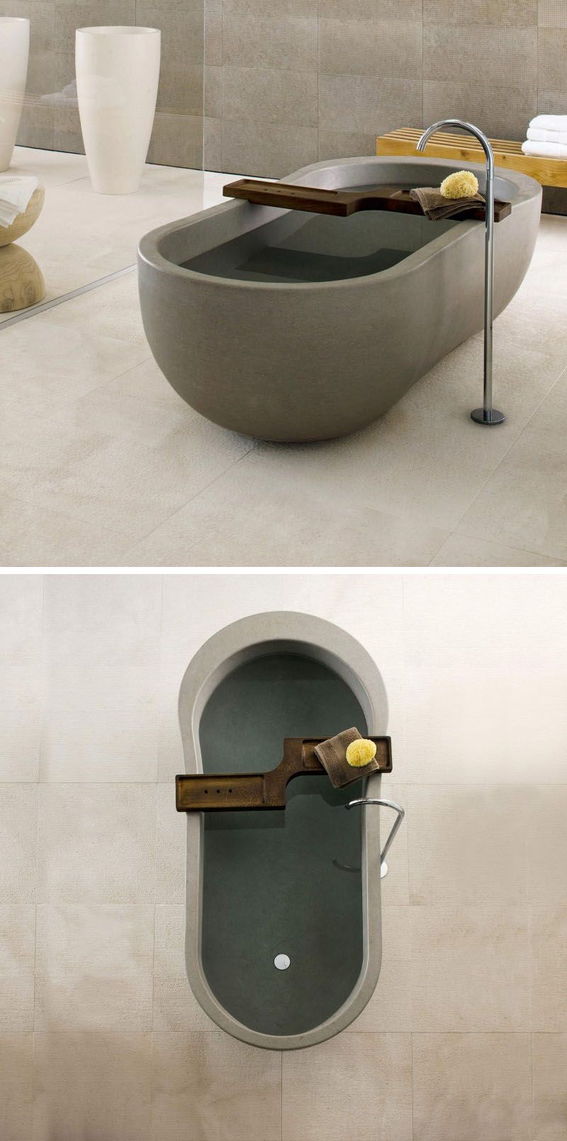 double marble stone polished slipper vespasian tub bathtubs carrara modern bathtub