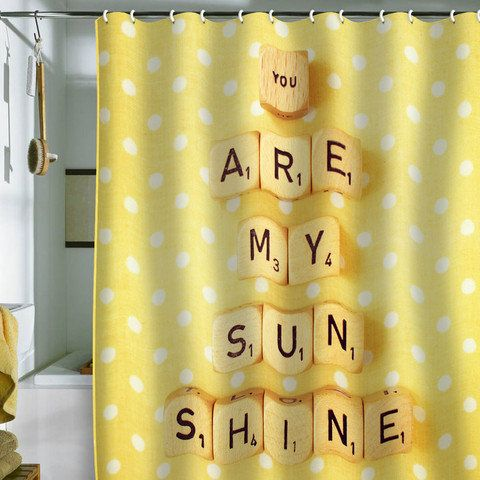 Happee Monkee You Are My Sunshine Shower Curtain With Images