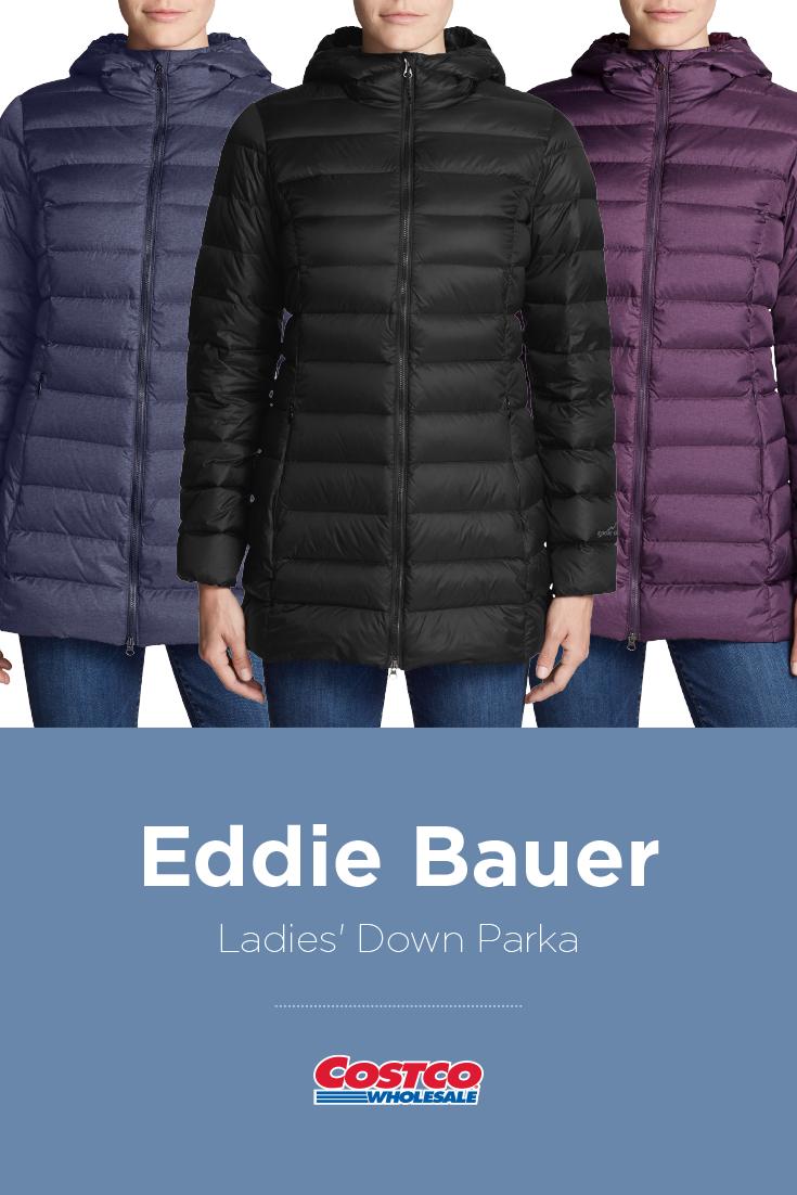 Eddie Bauer Ladies' Down Parka Costco Fashion