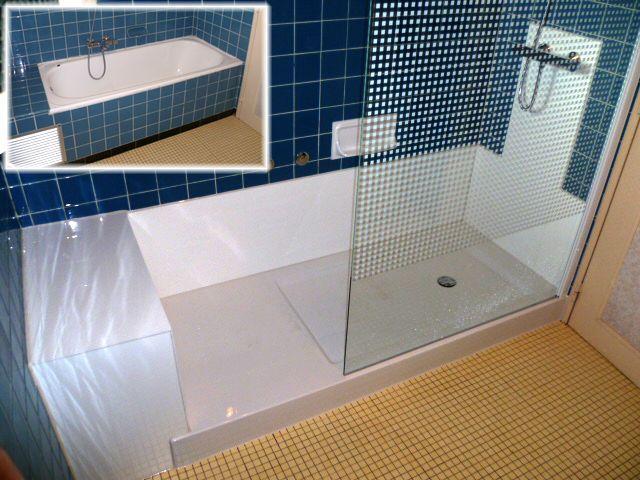 Remplacement baignoire par douche remplacer une baignoire - Remplacer une baignoire par une douche ...