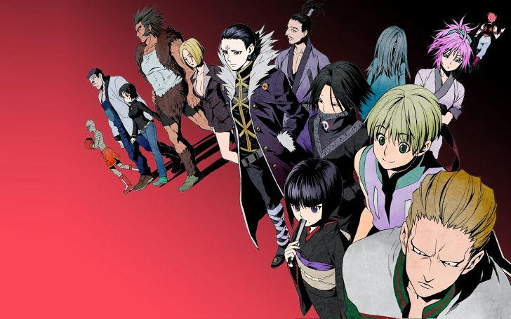 Phantom Troupe Members Hunter X 2011 Anime Hd Wallpaper 1440x900