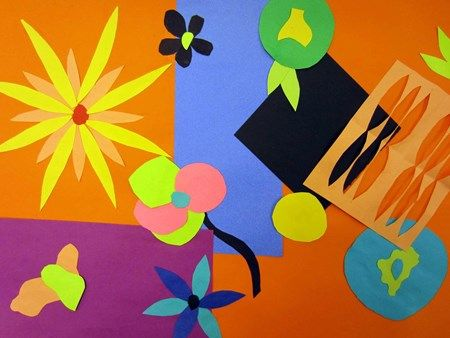 Spring Matisse Style Artsonia Lesson Plan 2nd grade – Second Grade Art Lesson Plans