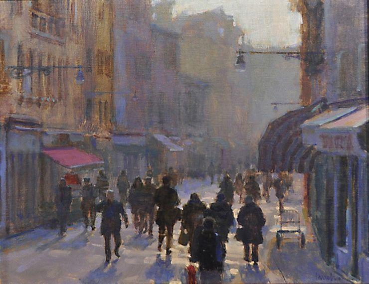 Charles Iarrobino a_winter_morning_in_venice_16x20