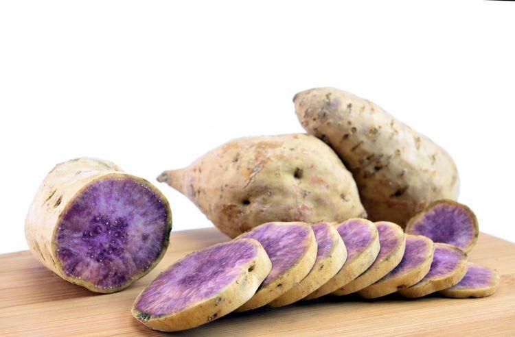 Okinawa Sweet Potatoes Hawaiian Purple Potatoes With Coconut Milk