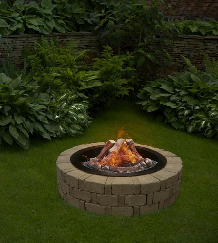 """Albany Fire Pit Project Material List 10-1/2"""" X 2' 4"""" X 3"""