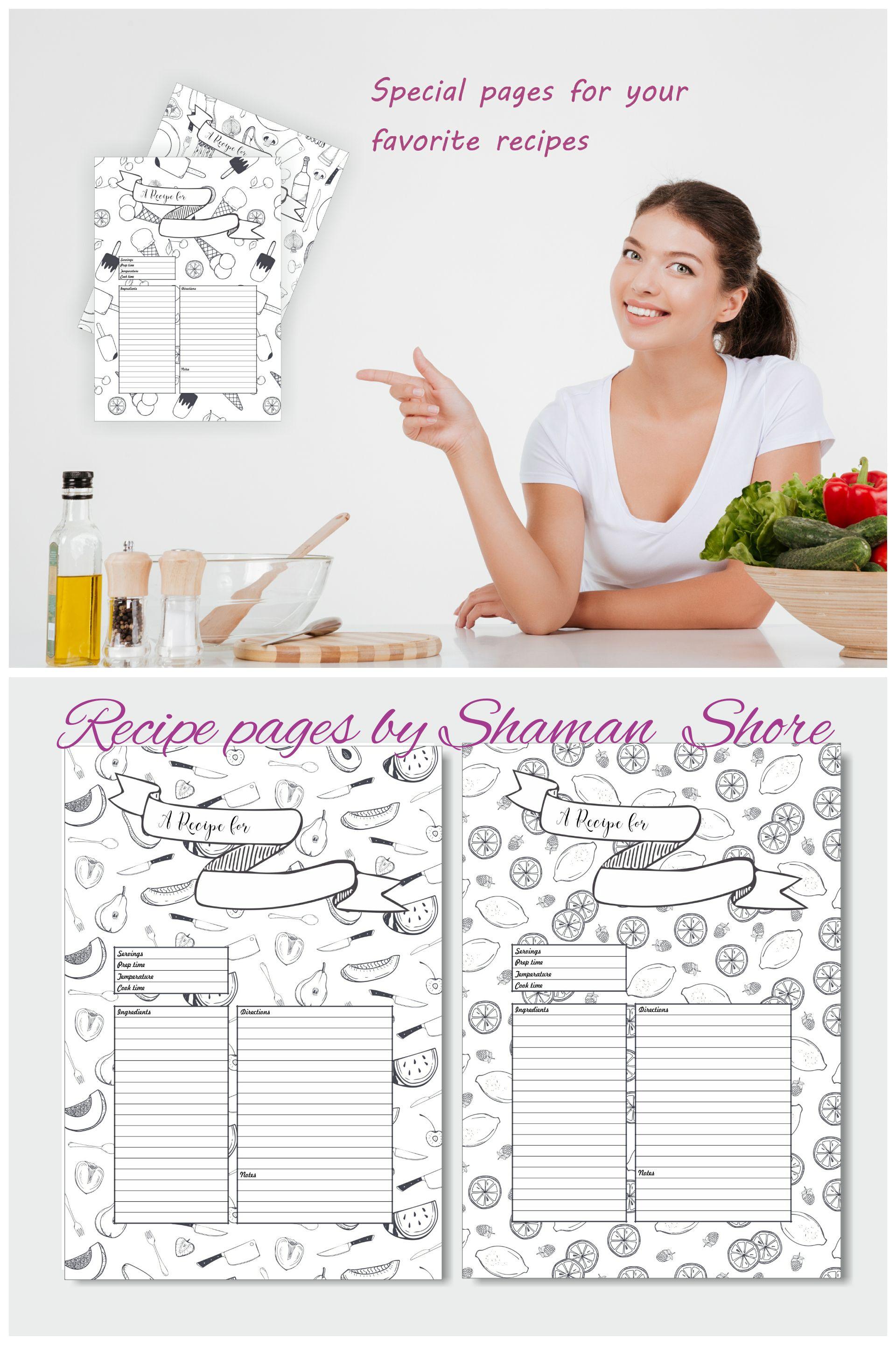 blank recipe sheets aildoc productoseb co