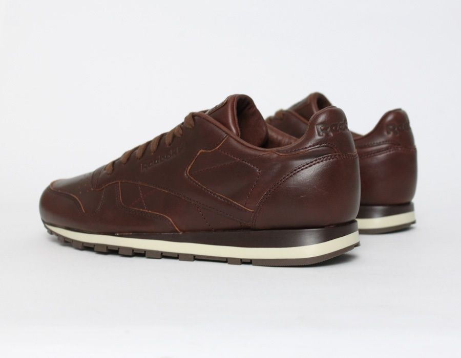 #Reebok Classic Leather made with #Horween fabric #Sneakers