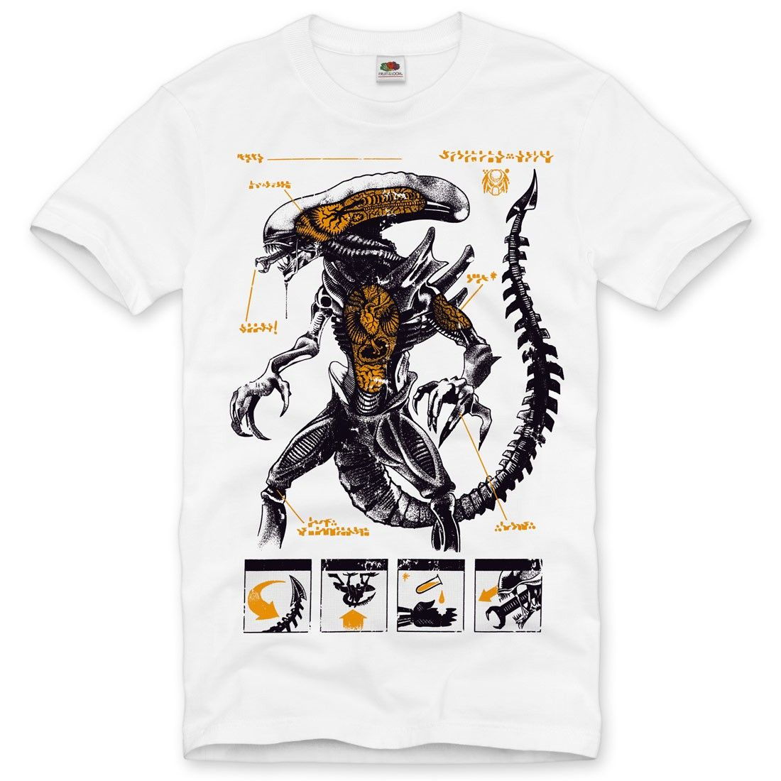 Details About Alien Xenomorph Mens T Shirt Ripley Movie - roblox xenomorph shirt