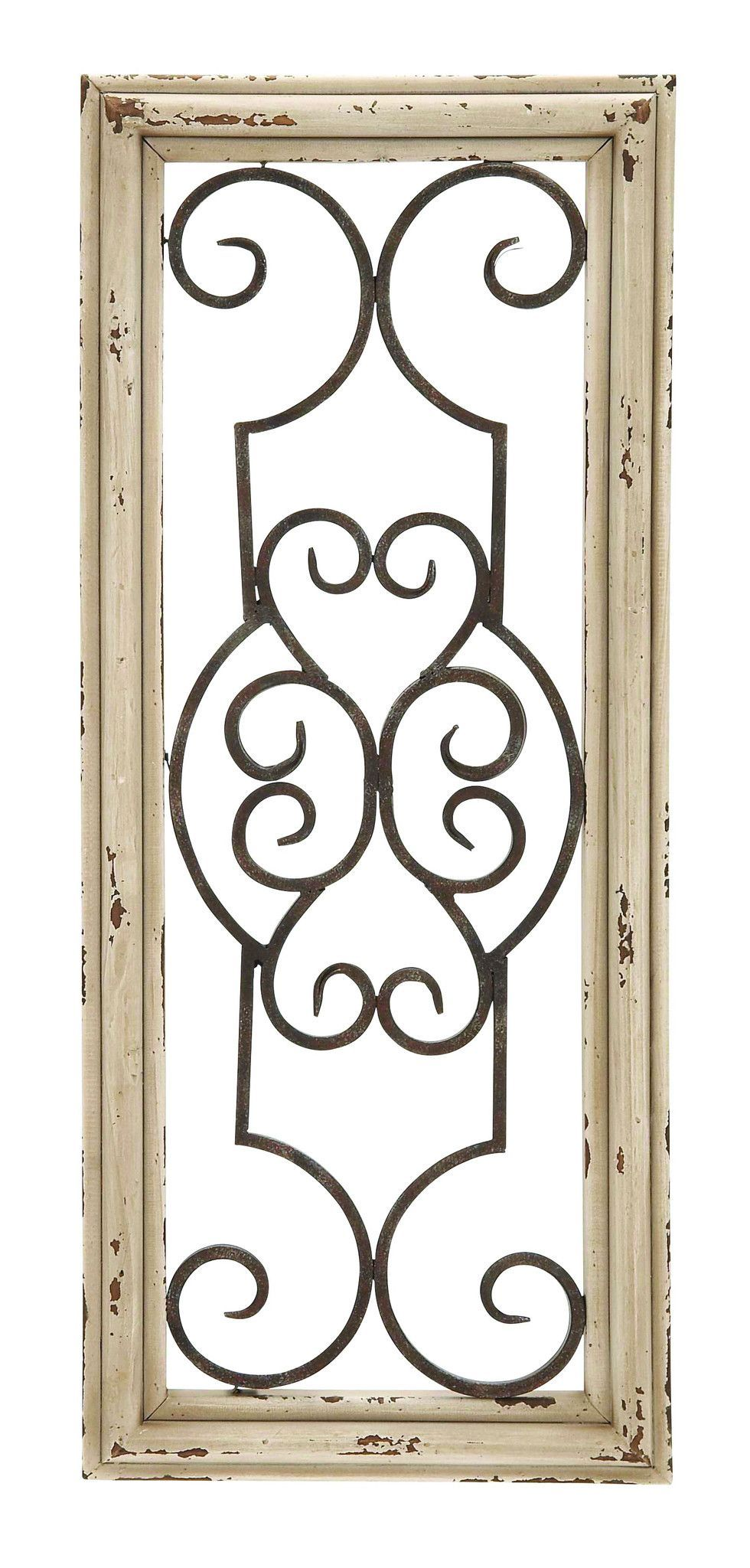 Wood And Metal Door Wall Decor Amazing Size 10 Wide X 1Depth X 25 High Inches *material Quality Metal Design Inspiration